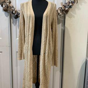 BCBG MAXAZRIA long knit cardigan